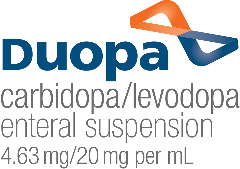 Duopa Carbidopa/Levodopa Enteral Suspension Logo